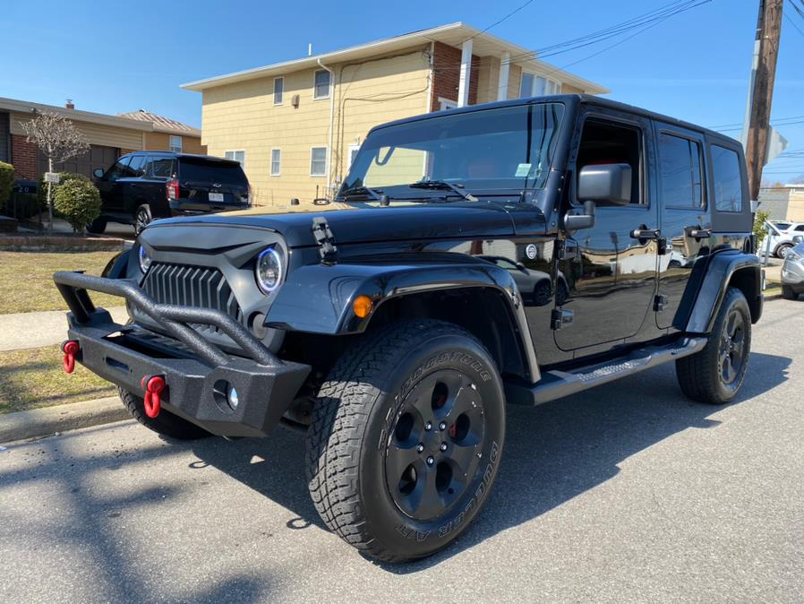 Used Jeep Wrangler Unlimited Sahara 4x4 2017 | Diamond Cars R Us Inc. Franklin Square, New York