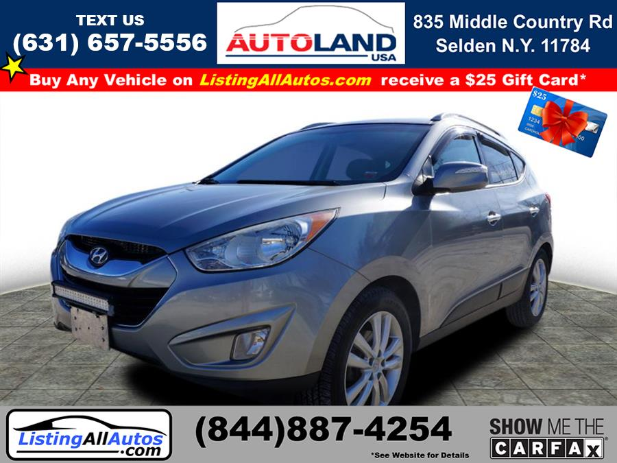 Used Hyundai Tucson Limited 2012 | www.ListingAllAutos.com. Patchogue, New York