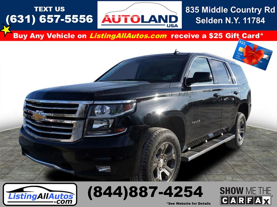 Used 2016 Chevrolet Tahoe in Patchogue, New York | www.ListingAllAutos.com. Patchogue, New York