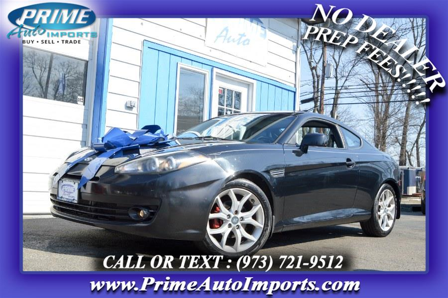 Used Hyundai Tiburon 2dr Cpe Man GT 2008 | Prime Auto Imports. Bloomingdale, New Jersey