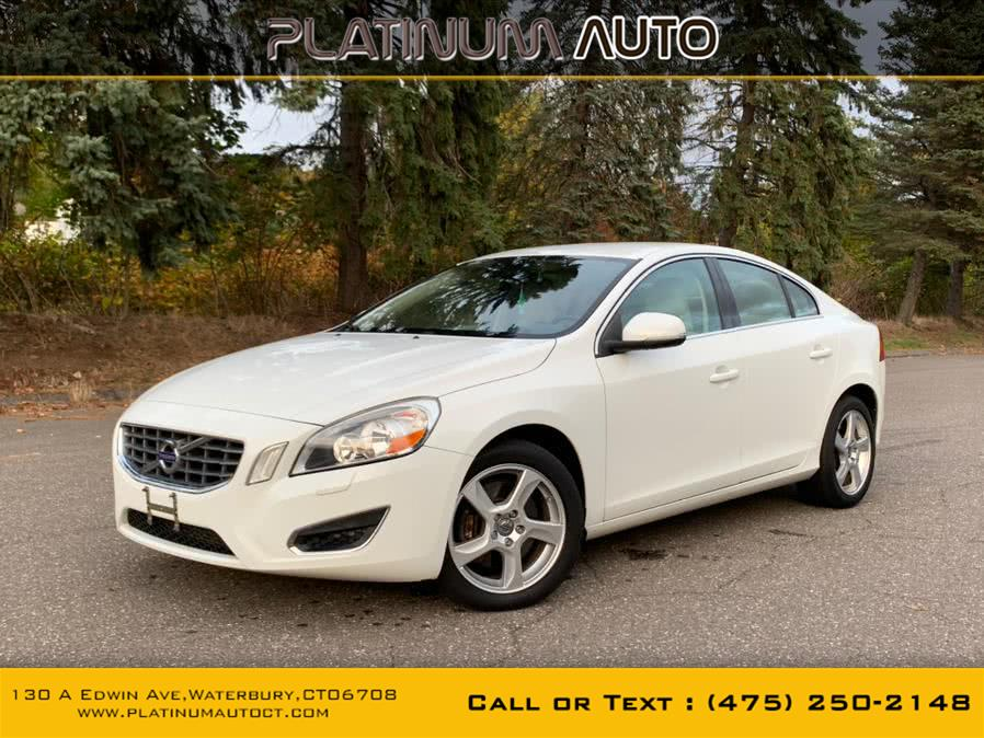 Used 2013 Volvo S60 in Waterbury, Connecticut | Platinum Auto Care. Waterbury, Connecticut