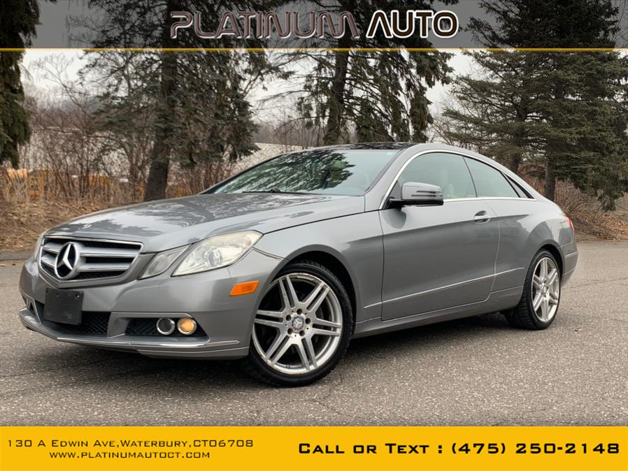 Used 2010 Mercedes-Benz E-Class in Waterbury, Connecticut | Platinum Auto Care. Waterbury, Connecticut