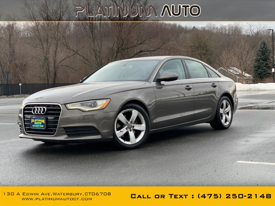 Used 2012 Audi A6 in Waterbury, Connecticut | Platinum Auto Care. Waterbury, Connecticut