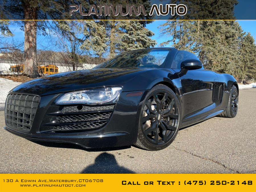 Used Audi R8 2dr Conv Auto quattro Spyder 5.2L 2012 | Platinum Auto Care. Waterbury, Connecticut