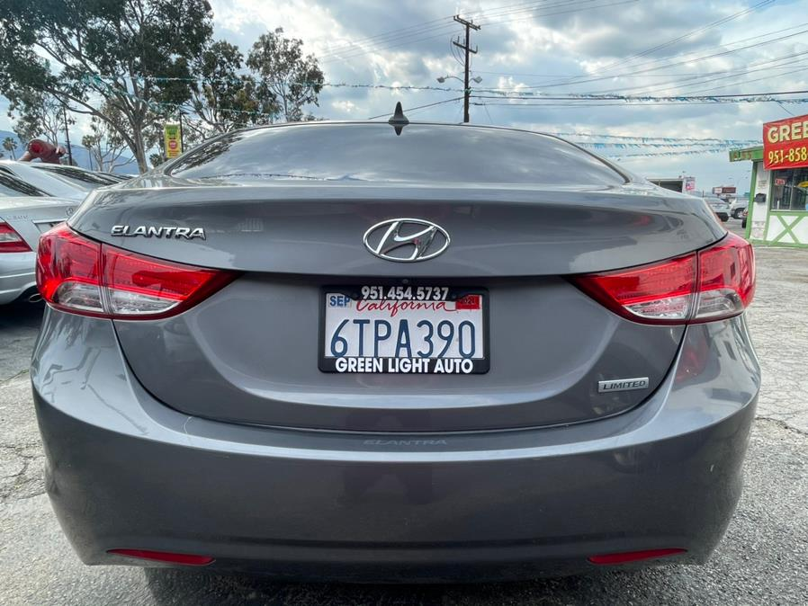 Used Hyundai Elantra Limited Sedan 4D 2012   Green Light Auto. Corona, California