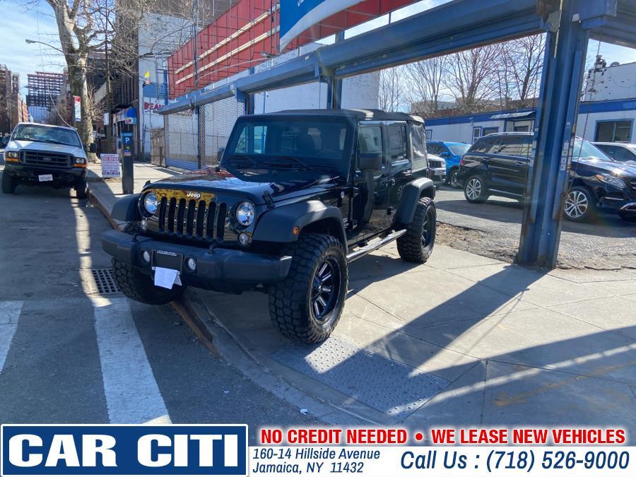 Used 2016 Jeep Wrangler Unlimited in Jamaica, New York | Car Citi. Jamaica, New York