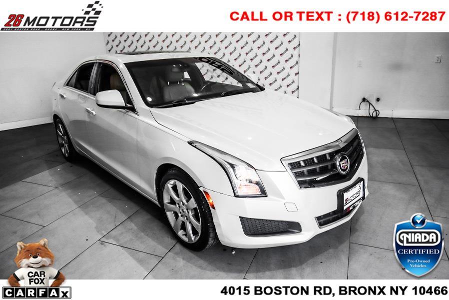 Used Cadillac ATS 4dr Sdn 2.5L Standard RWD 2014 | 26 Motors Corp. Bronx, New York