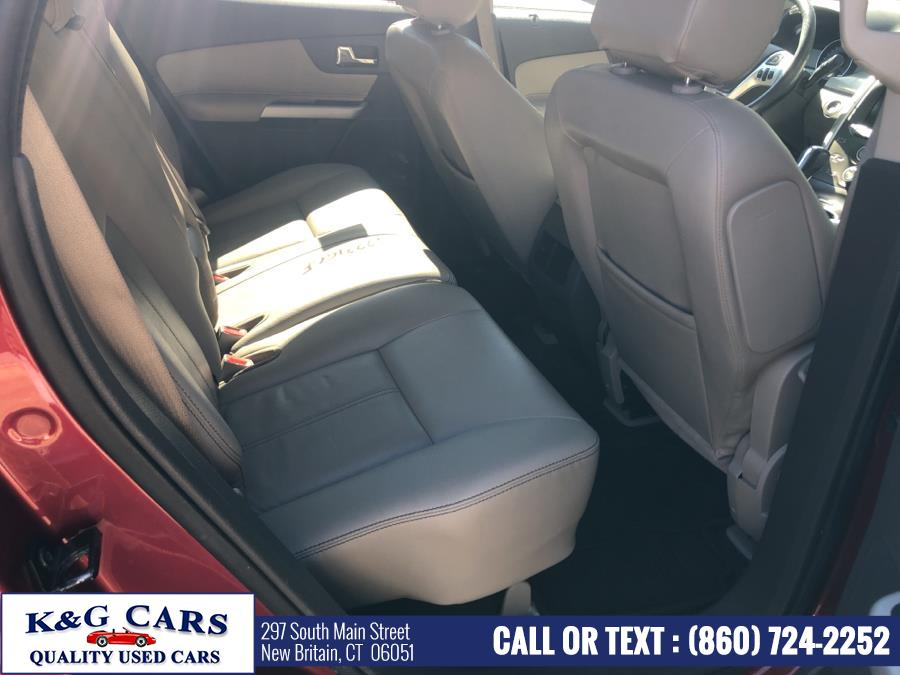Used Ford Edge 4dr SEL AWD 2013 | K and G Cars . New Britain, Connecticut