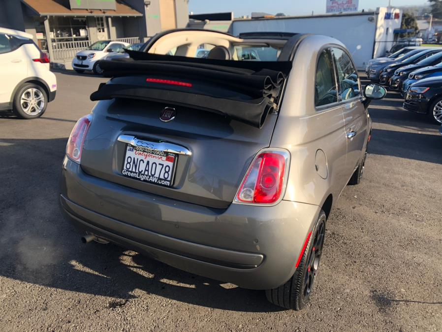 Used FIAT 500 Pop Convertible 2012   Green Light Auto Wholesale. Daly City, California