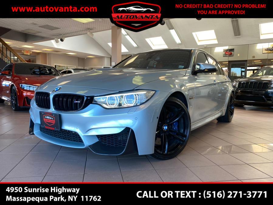 Used BMW M3 Sedan 2017   Autovanta. Massapequa Park, New York