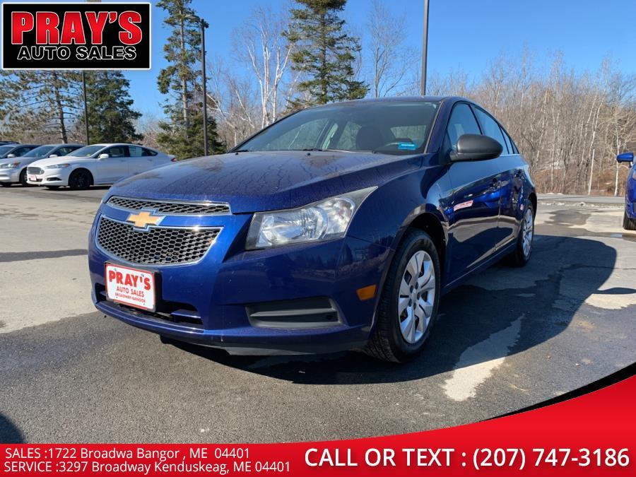 Used 2012 Chevrolet Cruze in Bangor , Maine | Pray's Auto Sales . Bangor , Maine