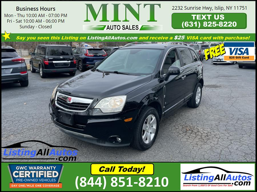 Used Saturn VUE FWD 4dr V6 XR 2008 | www.ListingAllAutos.com. Patchogue, New York