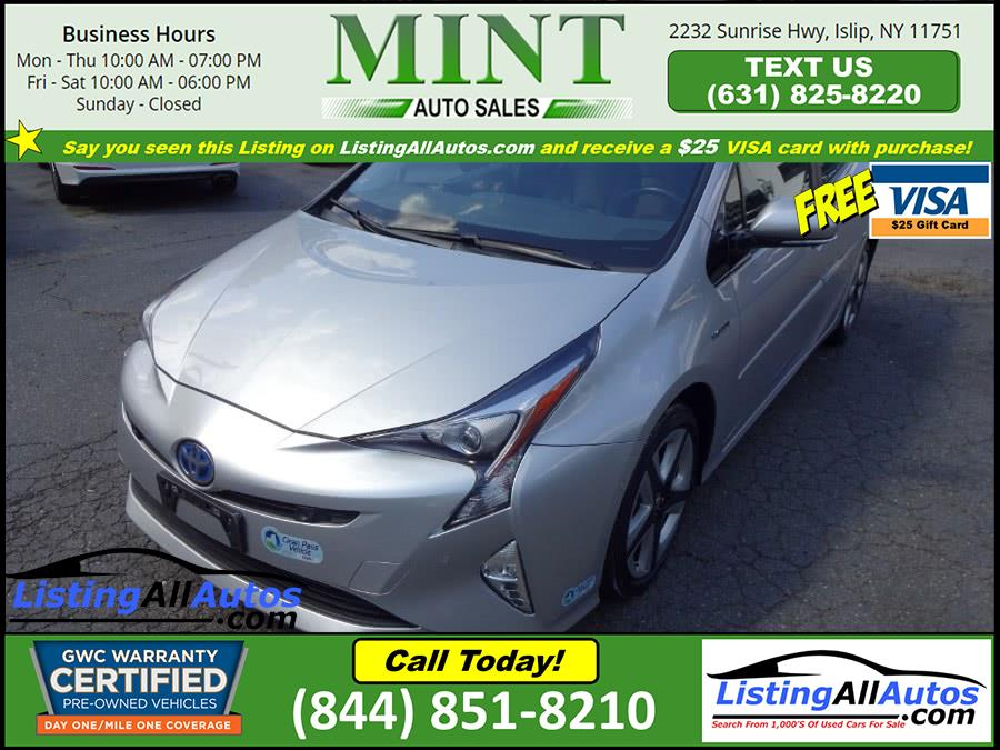 Used 2017 Toyota Prius in Patchogue, New York | www.ListingAllAutos.com. Patchogue, New York