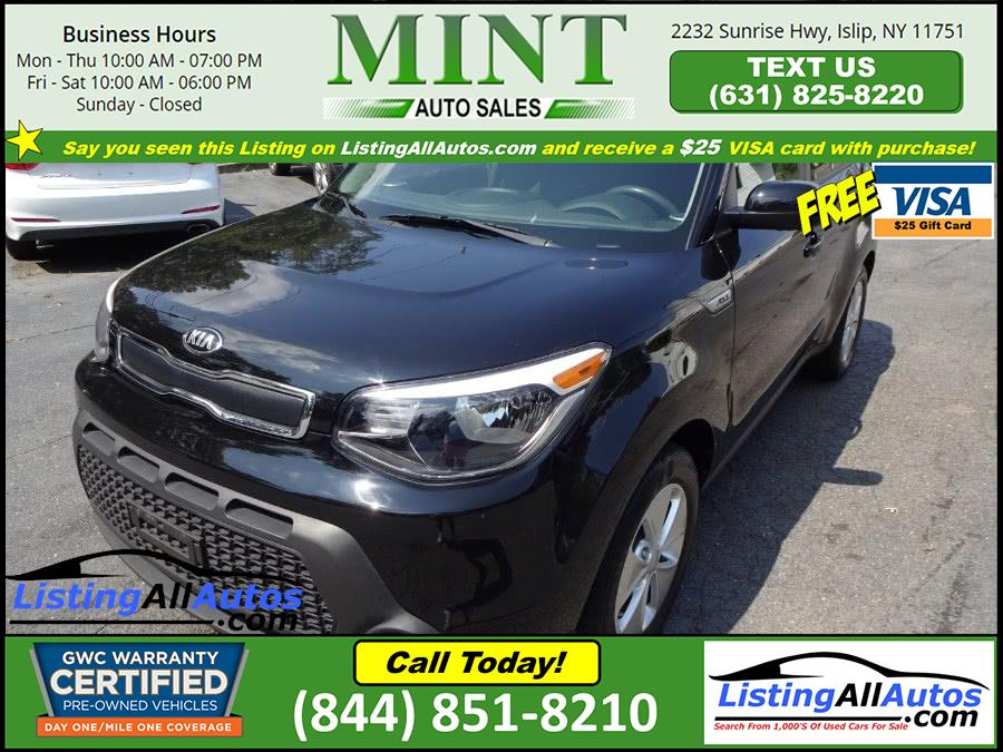 Used 2016 Kia Soul in Patchogue, New York   www.ListingAllAutos.com. Patchogue, New York