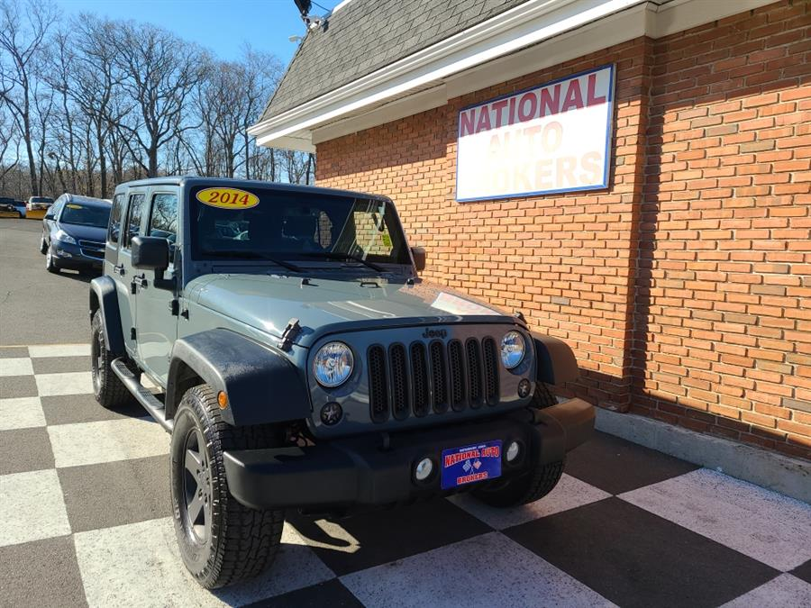 2014 Jeep Wrangler Unlimited 4WD 4dr Sport, available for sale in Waterbury, CT