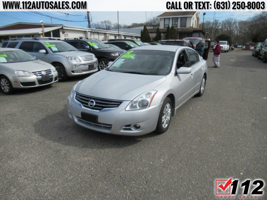 2012 Nissan Altima 4dr Sdn I4 CVT 2.5 S, available for sale in Patchogue, NY