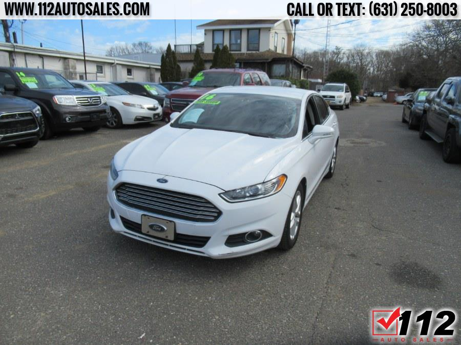 Used Ford Fusion 4dr Sdn SE FWD 2016   112 Auto Sales. Patchogue, New York