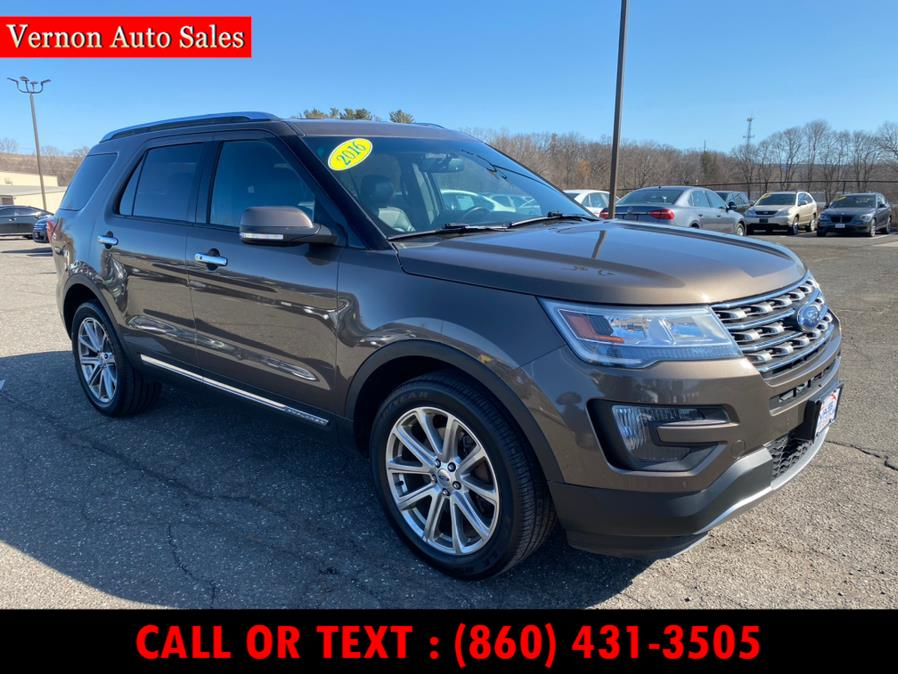 Used Ford Explorer 4WD 4dr Limited 2016 | Vernon Auto Sale & Service. Manchester, Connecticut