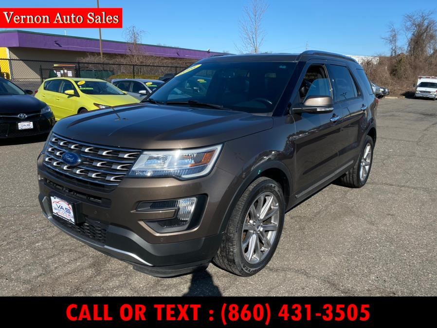 Used 2016 Ford Explorer in Manchester, Connecticut | Vernon Auto Sale & Service. Manchester, Connecticut