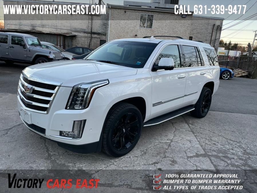 Used Cadillac Escalade 4WD 4dr Luxury 2018 | Victory Cars East LLC. Huntington, New York