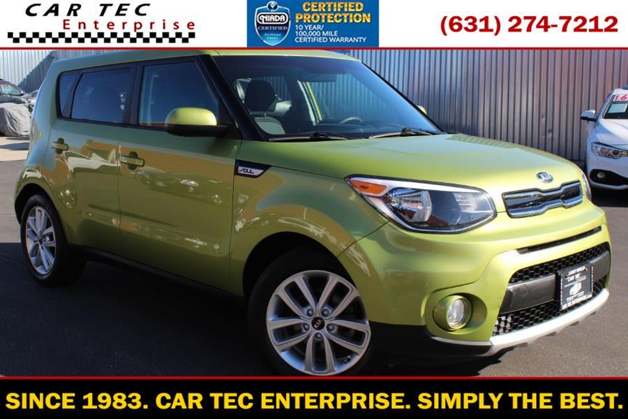 Used Kia Soul + Auto 2018 | Car Tec Enterprise Leasing & Sales LLC. Deer Park, New York