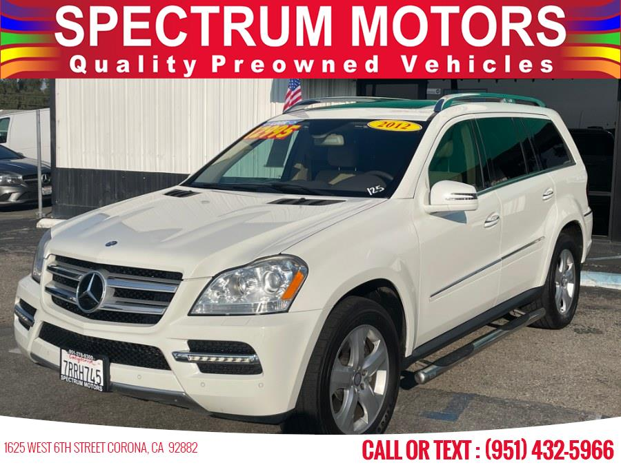 Used Mercedes-Benz GL-Class 4MATIC 4dr GL450 2012 | Spectrum Motors. Corona, California