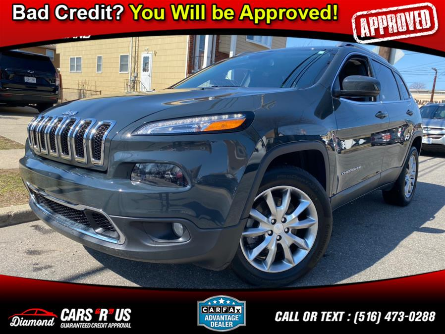 Used 2018 Jeep Cherokee in Franklin Square, New York | Diamond Cars R Us Inc. Franklin Square, New York