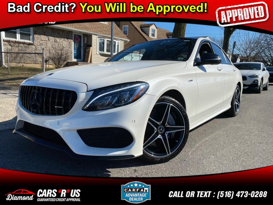 Used Mercedes-Benz C-Class ///AMG Package C 300 4MATIC Sedan 2018 | Diamond Cars R Us Inc. Franklin Square, New York