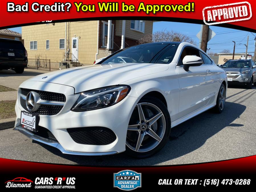 Used Mercedes-Benz C-Class ///AMG Package C 300 4MATIC Coupe 2018 | Diamond Cars R Us Inc. Franklin Square, New York