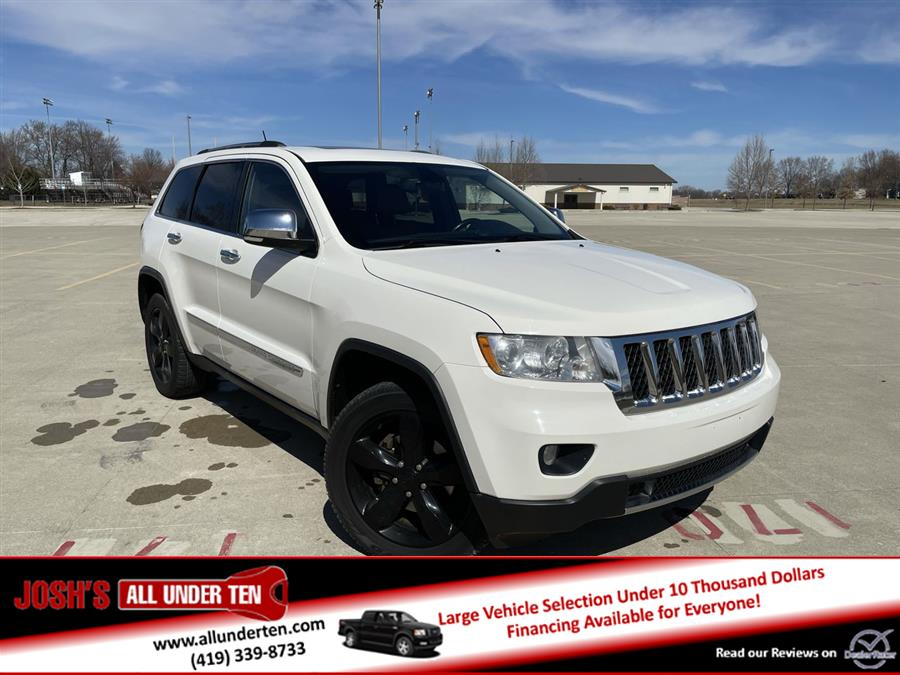 Used Jeep Grand Cherokee 4WD 4dr Overland 2012 | Josh's All Under Ten LLC. Elida, Ohio