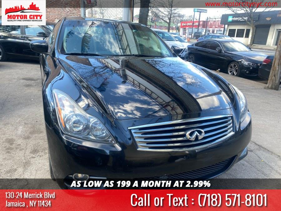 Used Infiniti G37 Coupe 2dr x AWD 2013 | Motor City. Jamaica, New York