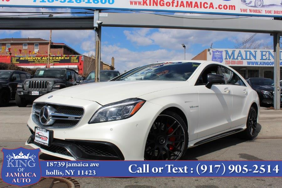 Used Mercedes-Benz CLS AMG CLS 63 S 4MATIC Coupe 2017 | King of Jamaica Auto Inc. Hollis, New York