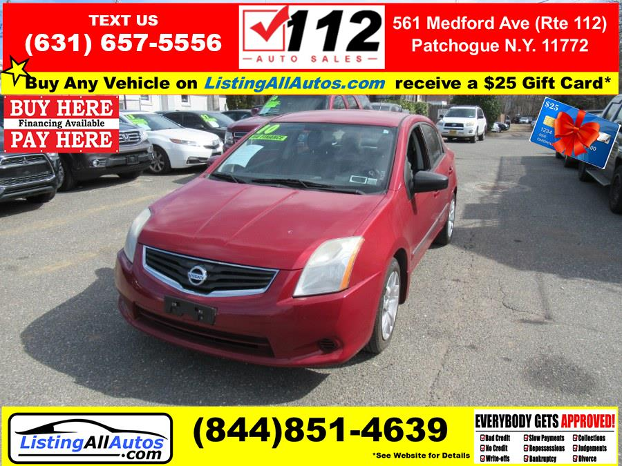 Used 2010 Nissan Sentra in Patchogue, New York | www.ListingAllAutos.com. Patchogue, New York