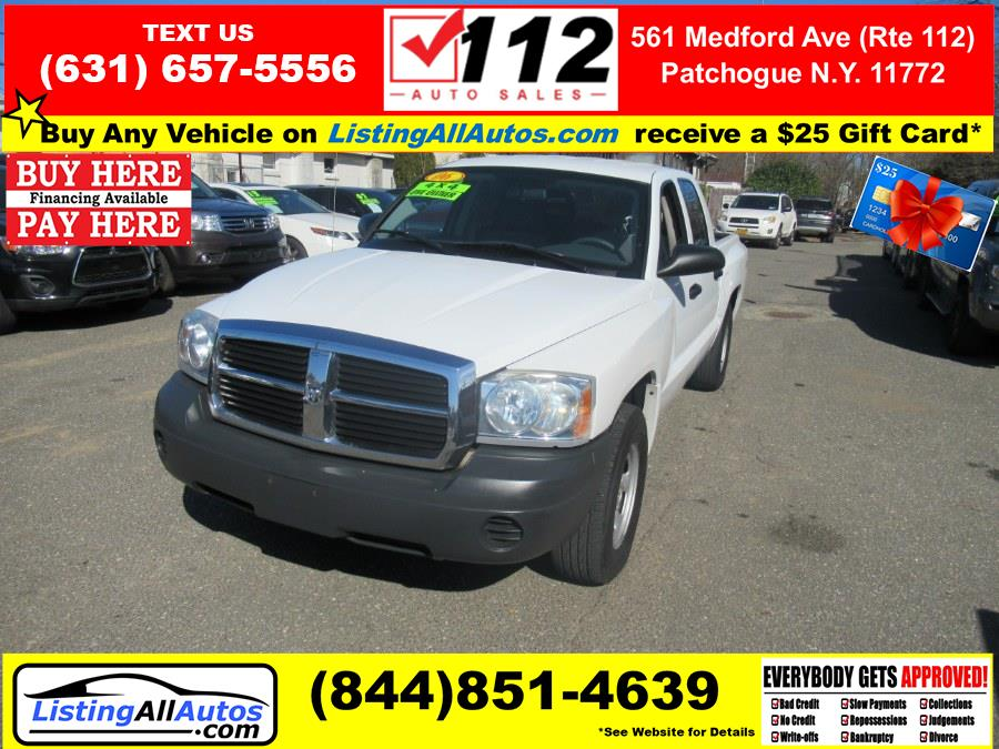 Used 2006 Dodge Dakota in Patchogue, New York | www.ListingAllAutos.com. Patchogue, New York