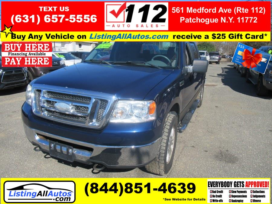 Used 2008 Ford F-150 in Patchogue, New York | www.ListingAllAutos.com. Patchogue, New York