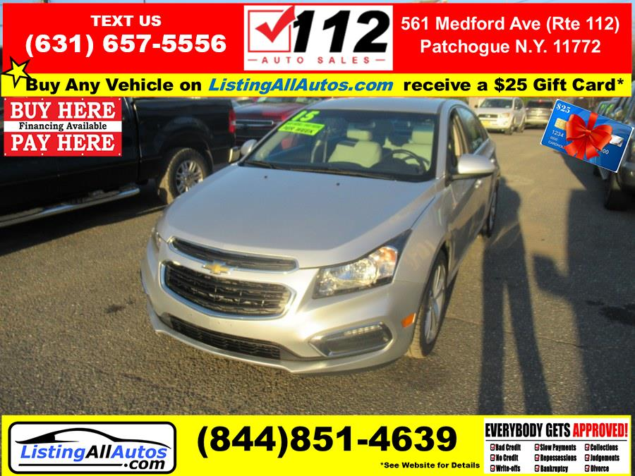 Used 2015 Chevrolet Cruze in Patchogue, New York | www.ListingAllAutos.com. Patchogue, New York