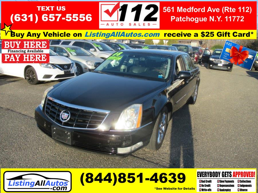 Used Cadillac DTS 4dr Sdn w/1SE 2008 | www.ListingAllAutos.com. Patchogue, New York