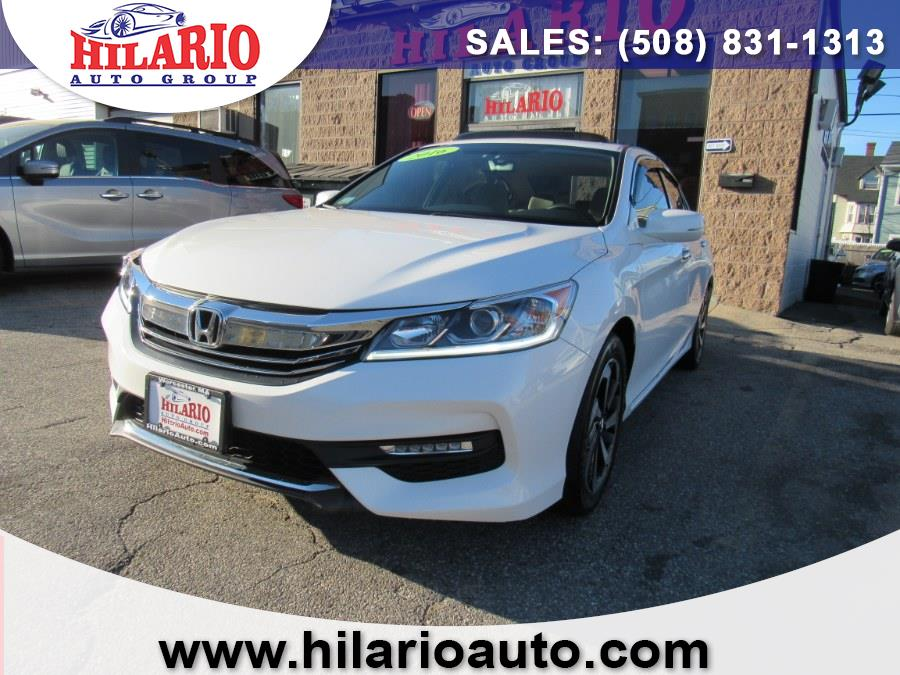Used 2016 Honda Accord Sedan in Worcester, Massachusetts | Hilario's Auto Sales Inc.. Worcester, Massachusetts