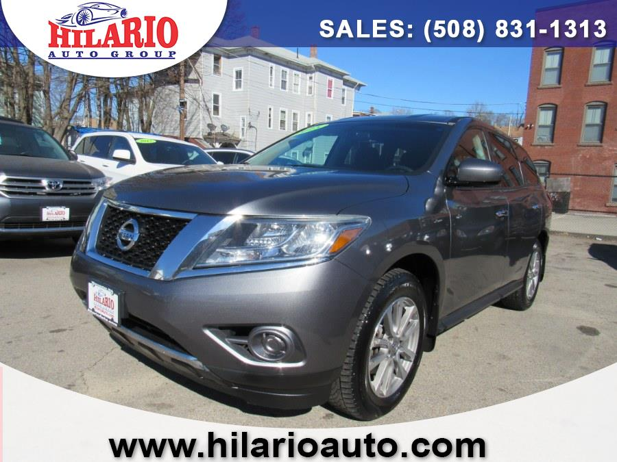 Used 2015 Nissan Pathfinder in Worcester, Massachusetts | Hilario's Auto Sales Inc.. Worcester, Massachusetts