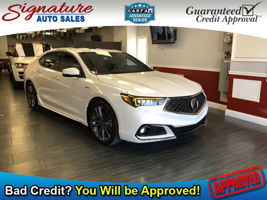 Used 2019 Acura TLX in Franklin Square, New York | Signature Auto Sales. Franklin Square, New York