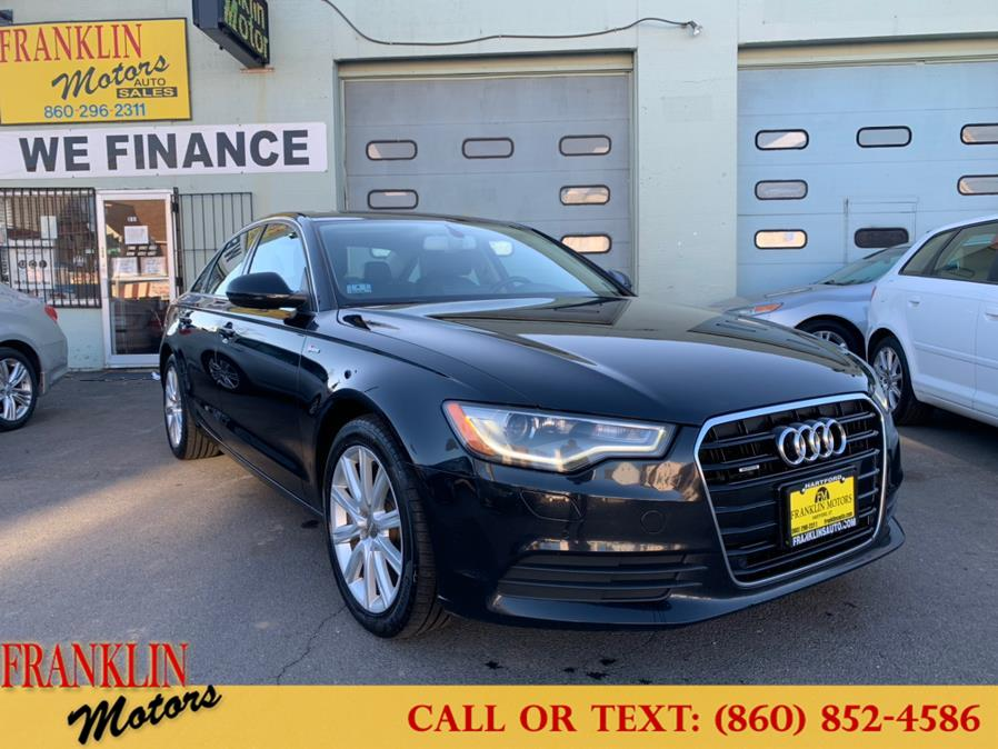 Used 2013 Audi A6 in Hartford, Connecticut | Franklin Motors Auto Sales LLC. Hartford, Connecticut