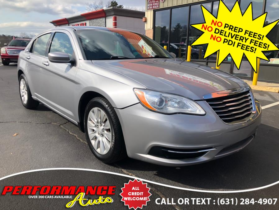 Used Chrysler 200 4dr Sdn LX 2014 | Performance Auto Inc. Bohemia, New York