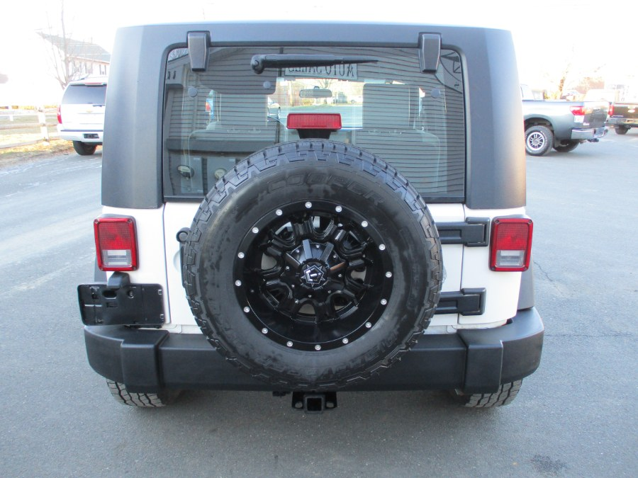 Used Jeep Wrangler 4WD 2dr X 2007 | Suffield Auto Sales. Suffield, Connecticut