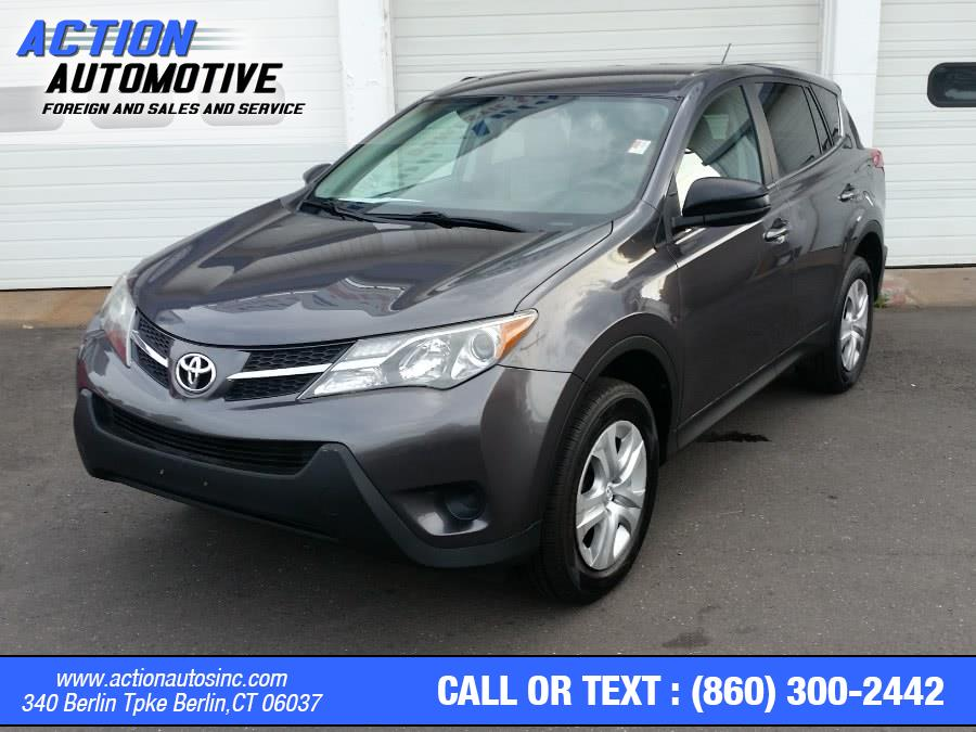 Used Toyota RAV4 AWD 4dr LE (Natl) 2013 | Action Automotive. Berlin, Connecticut