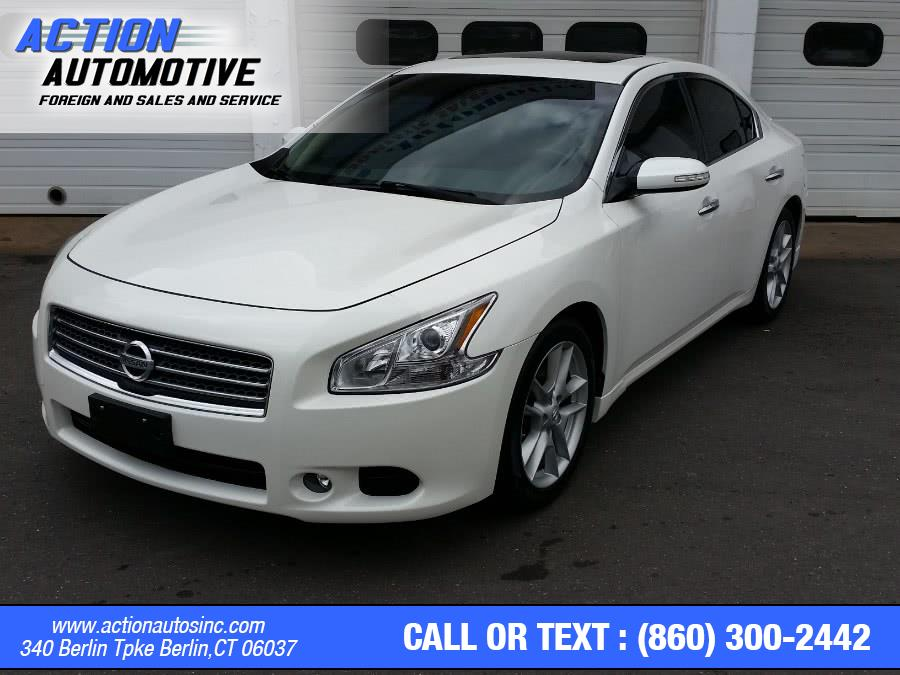 Used Nissan Maxima 4dr Sdn V6 CVT 3.5 SV 2010 | Action Automotive. Berlin, Connecticut