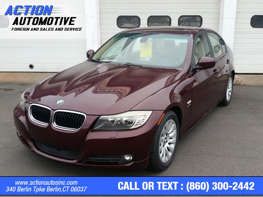 Used BMW 3 Series 4dr Sdn 328i xDrive AWD SULEV 2009 | Action Automotive. Berlin, Connecticut