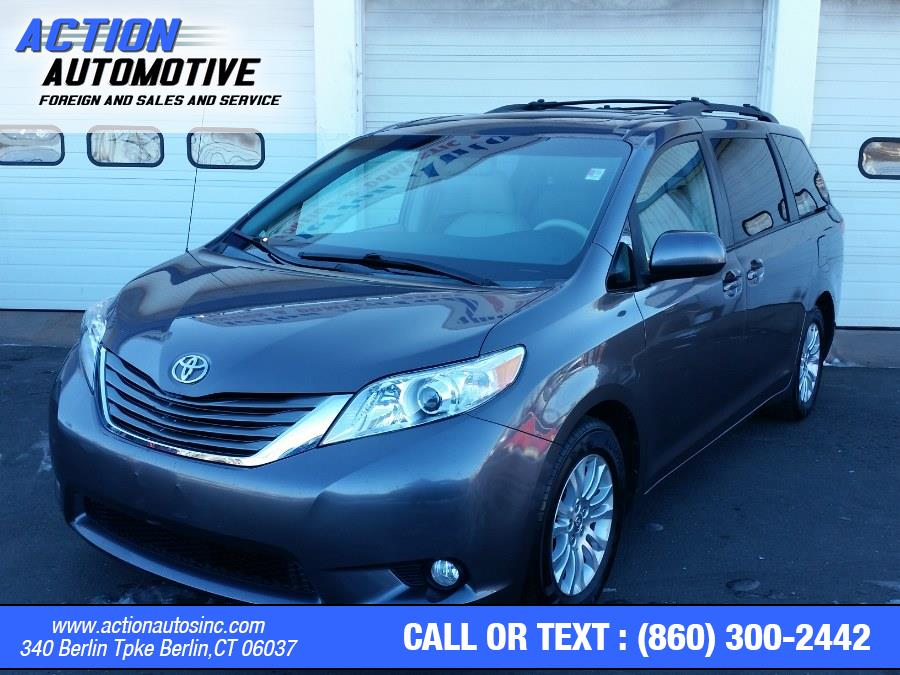 Used Toyota Sienna 5dr 8-Pass Van V6 XLE FWD 2014 | Action Automotive. Berlin, Connecticut