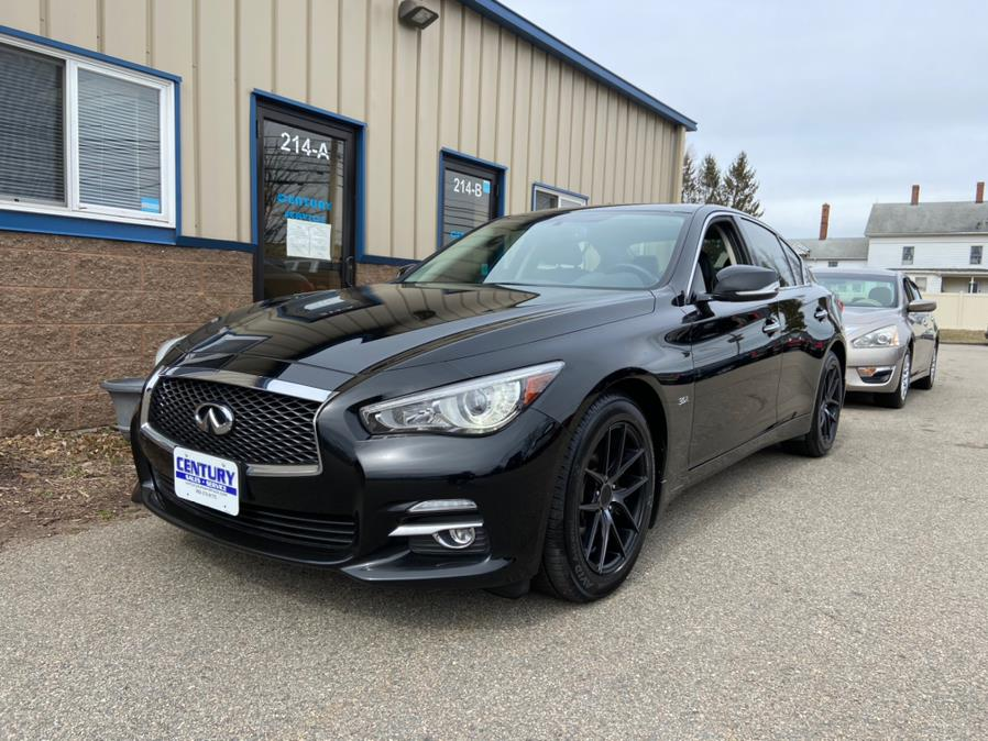 Used INFINITI Q50 3.0t Sport AWD 2017 | Century Auto And Truck. East Windsor, Connecticut
