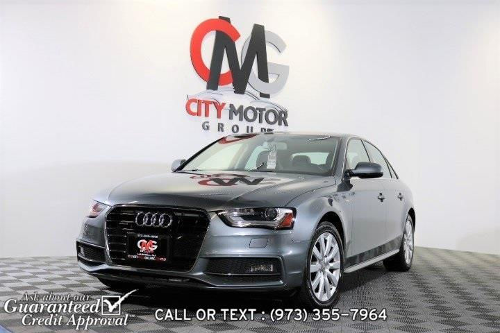Used 2015 Audi A4 in Haskell, New Jersey | City Motor Group Inc.. Haskell, New Jersey
