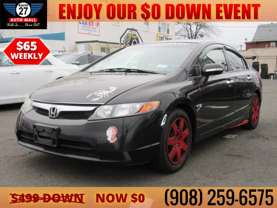 Used 2008 Honda Civic Sdn in Linden, New Jersey | Route 27 Auto Mall. Linden, New Jersey